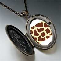Necklace & Pendants - giraffe skin pendant necklace Image.