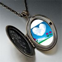 Necklace & Pendants - heart cloud photo pendant necklace Image.