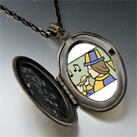 Necklace & Pendants - eleven piping pipers pendant necklace Image.