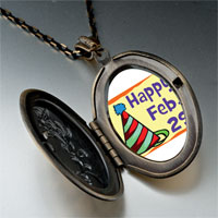 Necklace & Pendants - leap day photo pendant necklace Image.