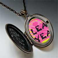 Necklace & Pendants - leap year pink heart photo pendant necklace Image.