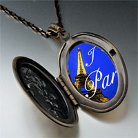 Necklace & Pendants - landmark paris eiffel tower photo pendant necklace Image.