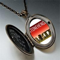 Necklace & Pendants - landmark stonehenge photo pendant necklace Image.