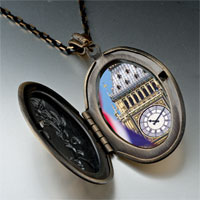 Necklace & Pendants - landmark big ben photo pendant necklace Image.