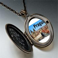 Necklace & Pendants - landmark prague photo pendant necklace Image.