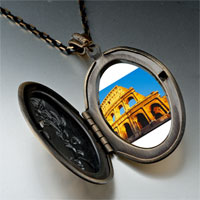 Necklace & Pendants - landmark colosseum photo pendant necklace Image.