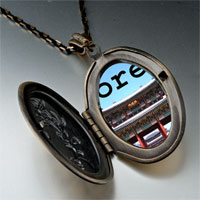 Necklace & Pendants - landmark korea temple photo pendant necklace Image.