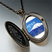 Necklace & Pendants - travel mt fuji photo pendant necklace Image.