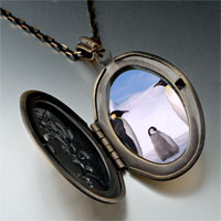 Necklace & Pendants - animal penguin antarctica photo pendant necklace Image.