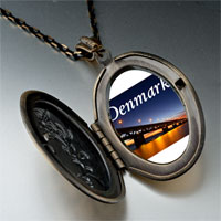 Necklace & Pendants - travel oresund bridge photo pendant necklace Image.