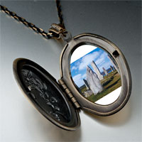Necklace & Pendants - travel callanish standing stones photo pendant necklace Image.