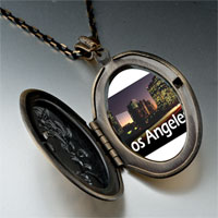 Necklace & Pendants - travel los angeles photo pendant necklace Image.