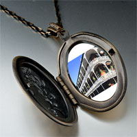 Necklace & Pendants - travel new orleans photo oval flower yellow pendant necklace Image.