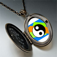 Necklace & Pendants - religion taoism yin yang photo pendant necklace Image.