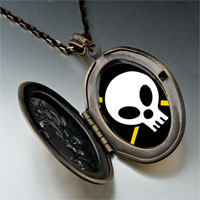 Necklace & Pendants - music hard metal photo pendant necklace Image.