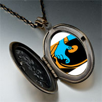 Necklace & Pendants - music disc playing photo pendant necklace Image.