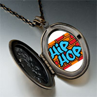 Necklace & Pendants - music hip hop photo pendant necklace Image.