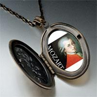 Necklace & Pendants - music mozart photo pendant necklace Image.