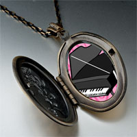 Necklace & Pendants - music noble piano photo pendant necklace Image.