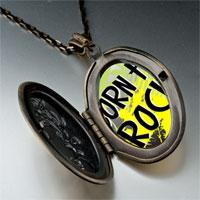 Necklace & Pendants - music theme born to rock photo pendant necklace Image.