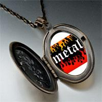 Necklace & Pendants - music theme metal hit photo pendant necklace Image.