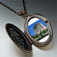 Necklace & Pendants - landmark devils tower photo pendant necklace Image.