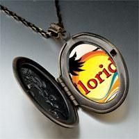 Necklace & Pendants - travel &  culture florida photo pendant necklace Image.