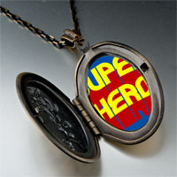 Necklace & Pendants - famous people superhero photo pendant necklace Image.