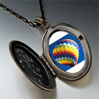 Necklace & Pendants - travel hot air balloon photo pendant necklace Image.