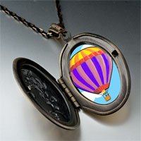 Necklace & Pendants - travel beauty hot air balloon photo pendant necklace Image.