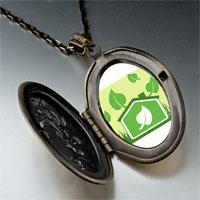 Necklace & Pendants - sign sprout photo pendant necklace Image.