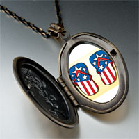 Necklace & Pendants - hobbies usa filp flop photo pendant necklace Image.