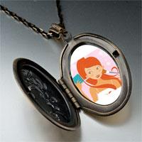 Necklace & Pendants - hobbies makeup photo pendant necklace Image.
