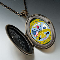 Necklace & Pendants - phrase army seal photo pendant necklace Image.