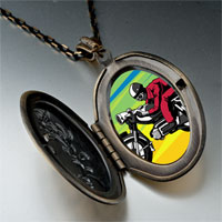 Necklace & Pendants - motorcycle photo italian pendant necklace Image.