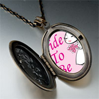 Necklace & Pendants - bride to be photo italian pendant necklace Image.