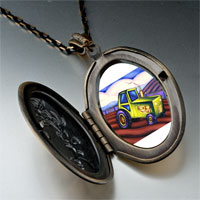 Necklace & Pendants - tractor photo italian pendant necklace Image.