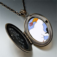 Necklace & Pendants - polar bear penguin photo italian pendant necklace Image.