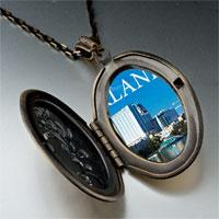 Necklace & Pendants - orlando city scenery photo italian pendant necklace Image.