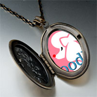 Necklace & Pendants - poodle photo italian pendant necklace Image.