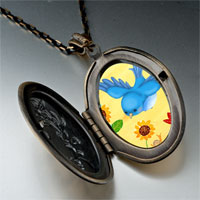 Necklace & Pendants - bird photo italian pendant necklace Image.