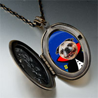Necklace & Pendants - puppy gentleman photo italian pendant necklace Image.