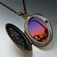 Necklace & Pendants - night scene photo italian pendant necklace Image.