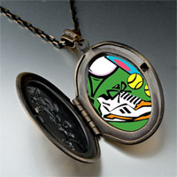 Necklace & Pendants - sports equipment photo italian pendant necklace Image.