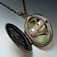 Necklace & Pendants - huts on green pendantoval flower yellow gifts for women necklace Image.