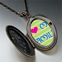 Necklace & Pendants - i heart family photo pendant necklace Image.
