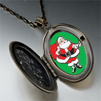 Necklace & Pendants - santa claus gift sack pendant necklace Image.