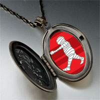 Necklace & Pendants - walking halloween mummy pendant necklace Image.