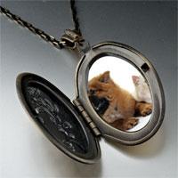 Necklace & Pendants - relaxing pet pals pendant necklace Image.