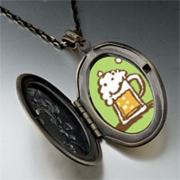 Necklace & Pendants - frothy beer pendant necklace Image.
